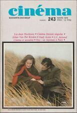 Cinéma79 N° 243 Mars 1979 - Nosferatu de Murnau à Herzog Johan Van der Keuken