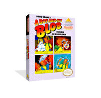- A Boy And His Blob NES Replacement Game Case Box + Cover Art Work Only