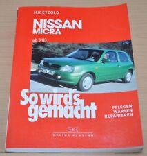 Nissan Micra ab 1983 Getriebe Motor Vergaser Kupplung Reparaturanleitung SWG 85
