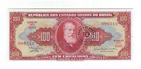 10 Centavos / 100 Cruzeiros UNC Brasilien 1967 C118 / P.185b - Brazil