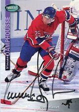 VINCENT DAMPHOUSSE CANADIENS AUTOGRAPH AUTO 94-95 PARKHURST #115 *30621