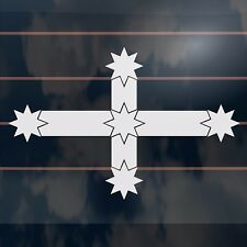 Eureka Flag Southern Cross Sticker 165mm aussie ute bns car decal