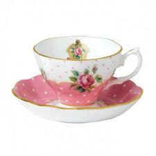 ROYAL ALBERT ART. 48023 TAZZA TE' CON PIATTINO CHEEKY PINK