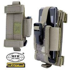Tasca Porta Radio Cellulare Smartphone Regolabile MOLLE MFH da Cintura SOFTAIR A