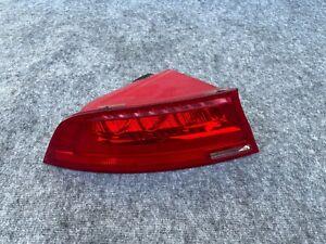 LEFT SIDE LED TAIL LIGHT TAILLIGHT ASSEMBLY OEM 12-15 AUDI A7 S7 RS7 C7