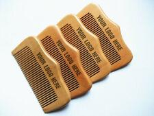 Customize Logo-50-100PCS Fine Tooth Wood Comb Beard Care Comb Pocket Size Brush