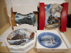 Lot+%281%29+of+4+Railway+Themed+Collector%27s+Plates+from+Various+Manufacturers