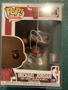 NBA Chicago Bulls Michael Jordan Signed Autographed FUNKO POP #54 W/COA