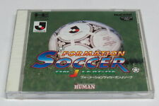 Formation Soccer On J League PC Engine HuCard Duo-RX GT LT * Brand NEW Sealed