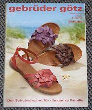 Katalog Gebrüder Götz Schuhe Schuhversand 2010 Herrenschuhe Damenschuhe Sandalen