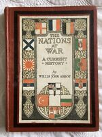 The Nations At War by Willis John Abbot New York 1918 World War I WWI