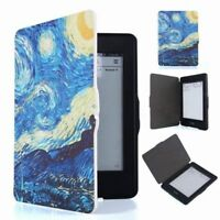 [NEW] Ebook Reader Flip Folio Case Cover Van Gogh Painting For Amazon Kindle Pap