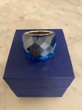 Swarovski Nirvana Ring - Size 55, Cobalt Blue