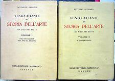 F. Wittgens e M. Gengaro, Testo Atlante di Storia dell'Arte, Voll. 1-2, Ed. M...