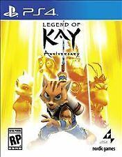 NEW Legend of Kay Anniversary (Sony PlayStation 4, 2015)