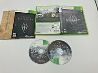 Microsoft Xbox 360 CIB Complete Tested Elder Scrolls V: Skyrim Legendary Edition