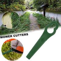 25/50Pcs Plastic Trimmer Replacement Garden Lawn Mower Replacement Grass Cutter