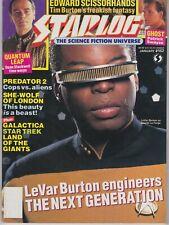 Starlog January 1991 #162 LaVar Burton