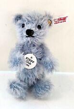 Steiff Club Bear Collectible Teddy Light Blue 2004 NIB W/COA
