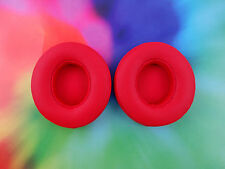 2 Beats Solo 2 Solo2 2.0 WIRELESS Ear Pads Part Replacement Cushions * RED *