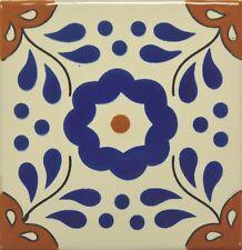 Primavera Azul (Blue Spring) Talavera Tile