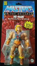 2020 Master Of The Universe Origins Mattel Walmart Exclusive He-man New Sealed