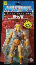 2020 Master Of The Universe Origins Mattel Walmart Exclusive He-man New Sealed