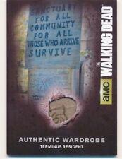 Walking Dead Season 4 Part 1 Authentic Wardrobe Card M-12 Terminus Resident