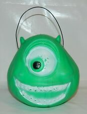 RARE MONSTER INC MIKE WAZOWSKI MEXICAN HALLOWEEN COIN BANK CONTAINER 11'' TALL