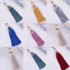 1Pc Crystal Ball Tassel Trim Pendant DIY Craft Curtain Head Tassel Home Decor