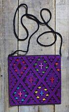 Morral Shoulder Bag Mayan San Andrés Larrainzar Mexican Hand Woven Hippie Fiesta