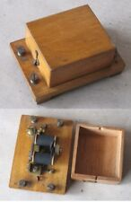 ANTIQUE FRENCH TELEPHONE RELAY / ca 1900s