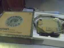 Vintage Sony Walkman Outback Radio Cassette Player