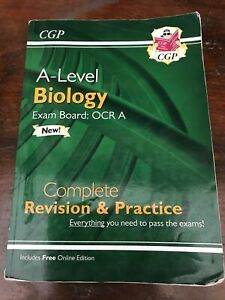 A  Level Biology  Revision And Practice  Exam Board OCR  A