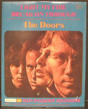 "THE DOORS Hip-Pocket Records ""Light My Fire"" MINT Sealed in Envelope"