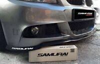 New 1x Universal Black Rubber Lip 250cm Car Van Front Bumper Spoiler Skirt Trim