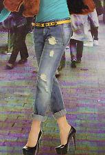 Jeans slavato, Tg. M, art. 3605, DENNY ROSE