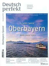Deutsch perfekt, Heft Juni 06/2015: Oberbayern +++ wie neu +++