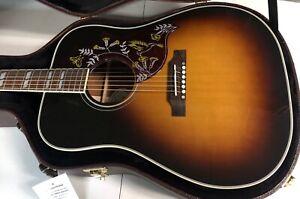 MINT! 2021 Gibson Acoustic Hummingbird Standard  - Unplayed - Vintage Sunburst