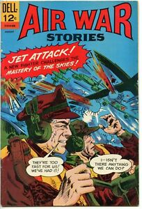 Air War Stories comic Issue #8 August 1966 in 5.5 Fine- condition!