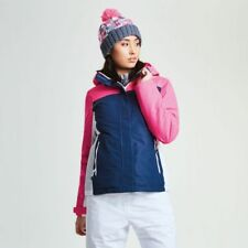 Dare2b Womens PROSPERITY Blue/Pink Ski Jacket Ladies NEW SIZES 10 - 18 UK