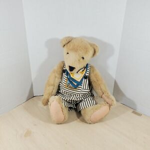"""Vintage 22"""" Vander Bear Fuzzy/ Fluffy A Taste o'Honey Outfit Retired Collection"""