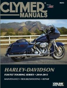 2010-2013 Harley Davidson FL Road King Electra Street Glide CLYMER REPAIR MANUAL