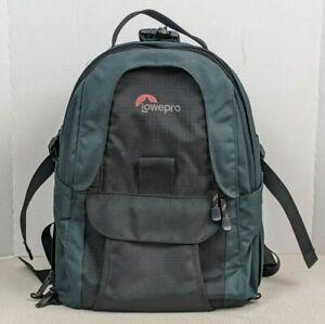 Lowepro Mini Trekker AW SLR DSLR Camera Bag Backpack Padded Green 12x7x16