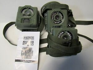 3 PRIMOS BULLET PROOF 2 TRAIL CAMERAS ..