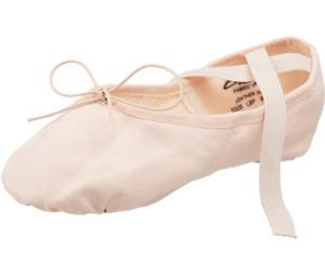 CAPEZIO WOMENS 2028 JULIET DANCE SHOE US 5 M PINK BALLET SLIPPER NEW NWOT