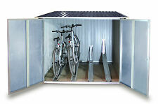 Tepro 7165 Fahrradbox Fahrradgarage für bis zu 4 Fahrräder