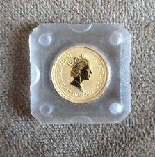 The australian Nugget 1/10 Oz. .9999 Gold 1997 15 Dollars