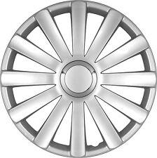Lot de 4 enjoliveurs de roues 16 pouces SPYDER Argent look Audi