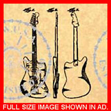 FENDER JAGUAR/JAZZMASTER GUITAR Patent-1959 1 of 2 #752